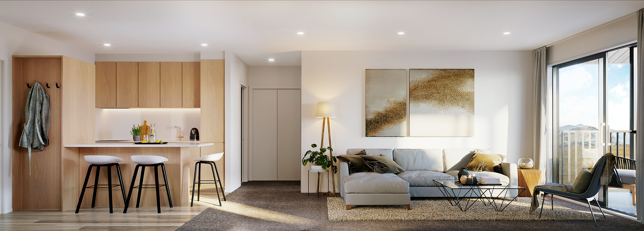 Toru Apartments At Remarkables Park New Ground Living